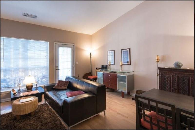Furnished 1-Bedroom Condo at King St & N Hampton Dr Alexandria - Image 1 - Alexandria - rentals