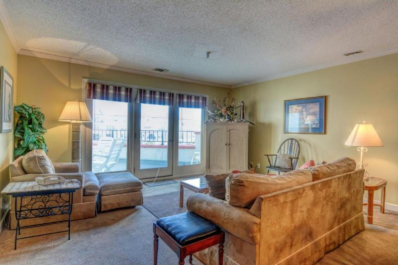Living Area - Villa Capriani 306-A -3BR_8 - North Topsail Beach - rentals