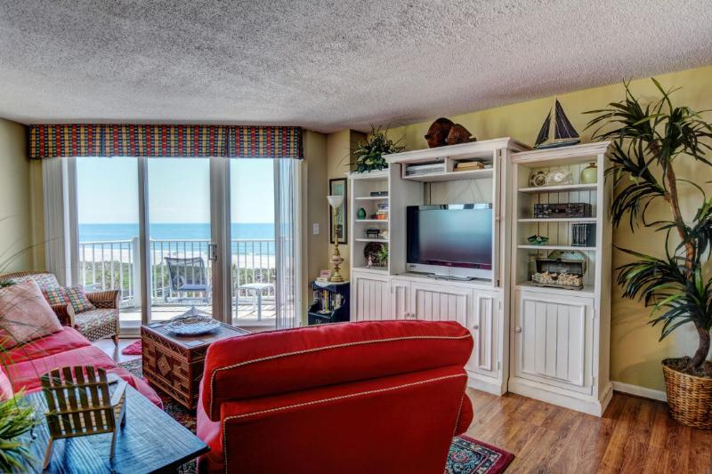 Living Area - St. Regis 2411 -2BR_6 - North Topsail Beach - rentals