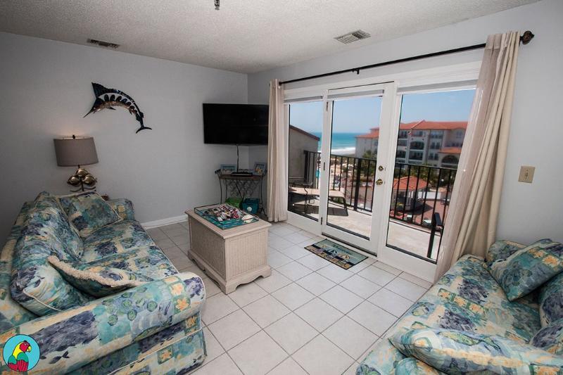 Living Area - Villa Capriani 407-B-2BR_8 - North Topsail Beach - rentals