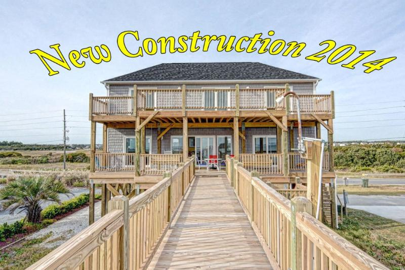 Built in 2014, Added to Treasure August 2015 - New River Inlet Rd 1208 -4BR_SFH_OF_12 - Sneads Ferry - rentals