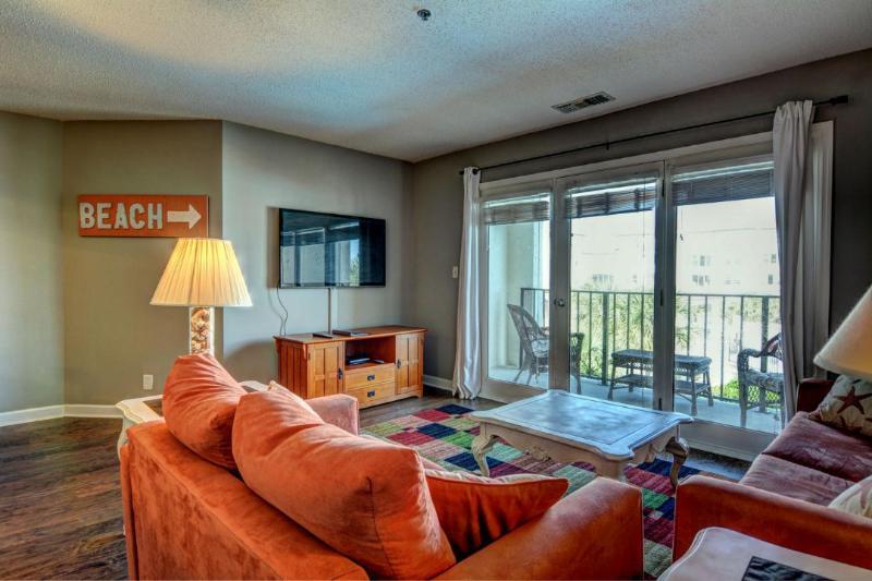 Living Area - Villa Capriani 211-A - Sneads Ferry - rentals