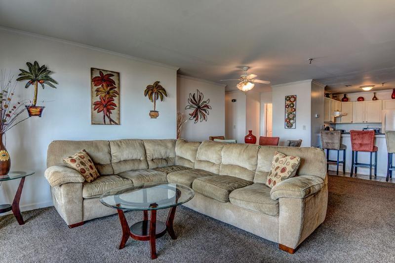 Living Area - Villa Capriani 320-A - North Topsail Beach - rentals
