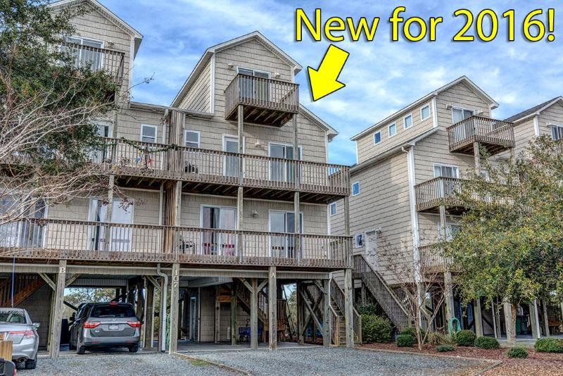 Added in 2016! New furniture throughout!  - Anchor Dr. 107A | Newly decorated | Great Sunset View | Easy beach access | Heart of Surf City - Surf City - rentals