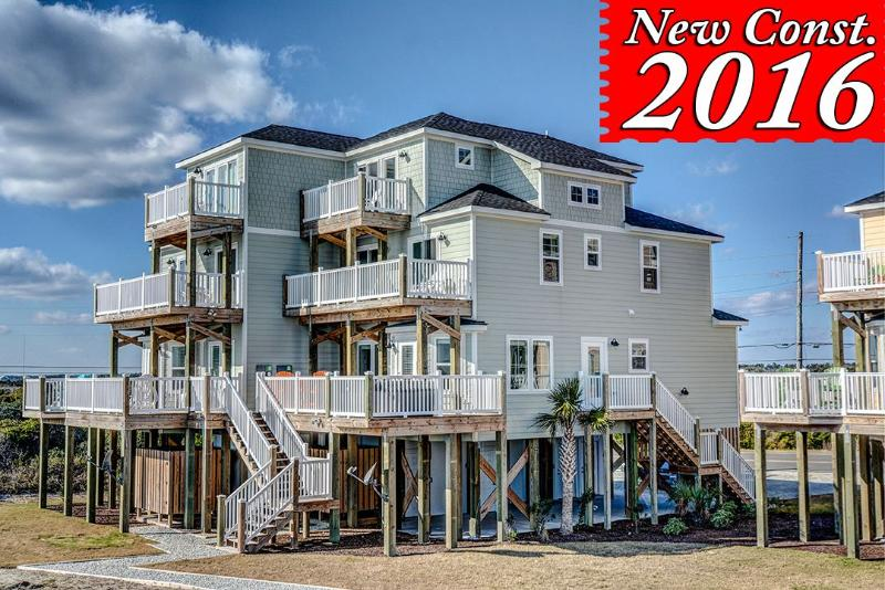 1148-1 New River Inlet Road - Professionally Decorated, Everything New!! Community Pool, Elevator, Private - Sneads Ferry - rentals
