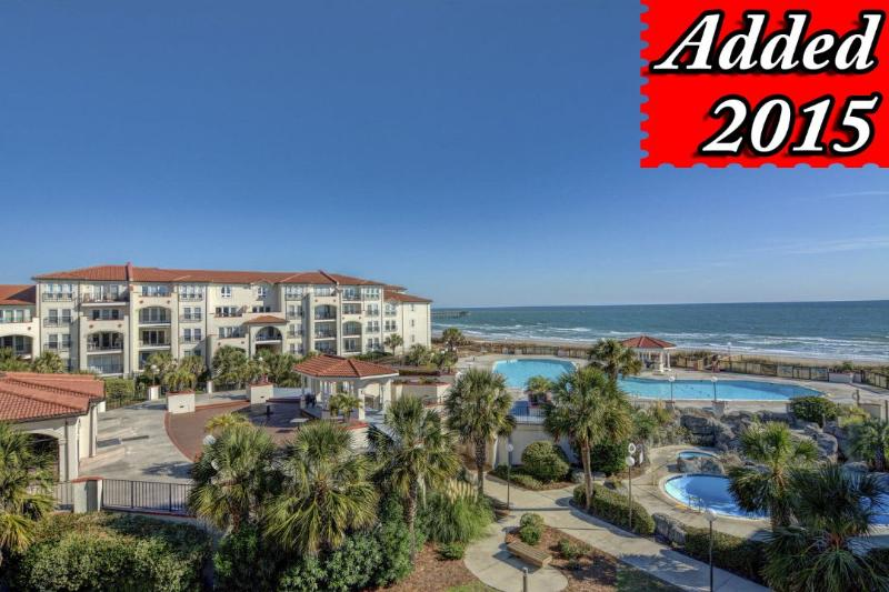 View From Your Balcony - Villa Capriani 307-A  Discounts Available- See Description!! - North Topsail Beach - rentals