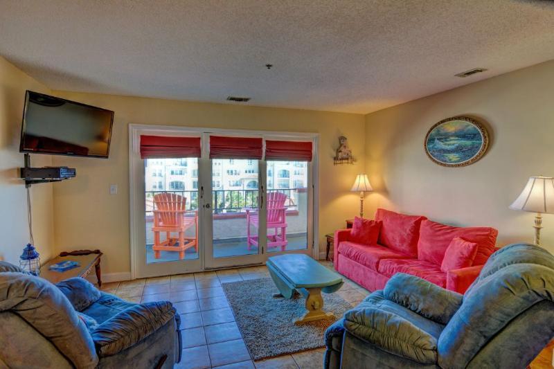 Living Area - Villa Capriani 307-A  Discounts Available- See Description!! - North Topsail Beach - rentals