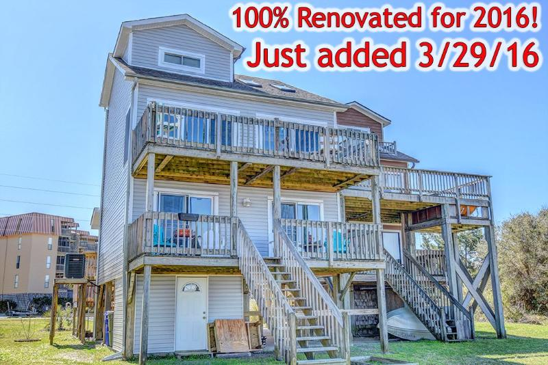 Check out this new home - New River Inlet Rd 1879 | Take $100 off if you book an open week in 2016 by May 15th, 2016!! - Sneads Ferry - rentals