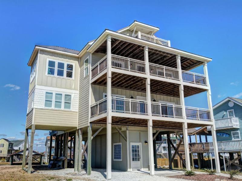 1597 New River Inlet Rd - New River Inlet Rd 1597 | Canal Home | Unobstructed Ocean View | Perfectly Decorated - Sneads Ferry - rentals