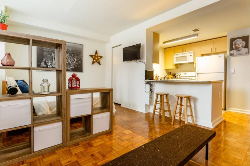 Chic Midtown Luxury Apt Sleeps 5 - Image 1 - New York City - rentals