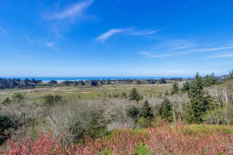 Dog-friendly and elegant home with stunning ocean views! - Image 1 - Neskowin - rentals