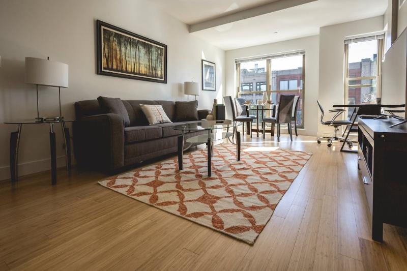 Sleek 1 Bedroom, 1 Bathroom Apartment - Image 1 - Boston - rentals
