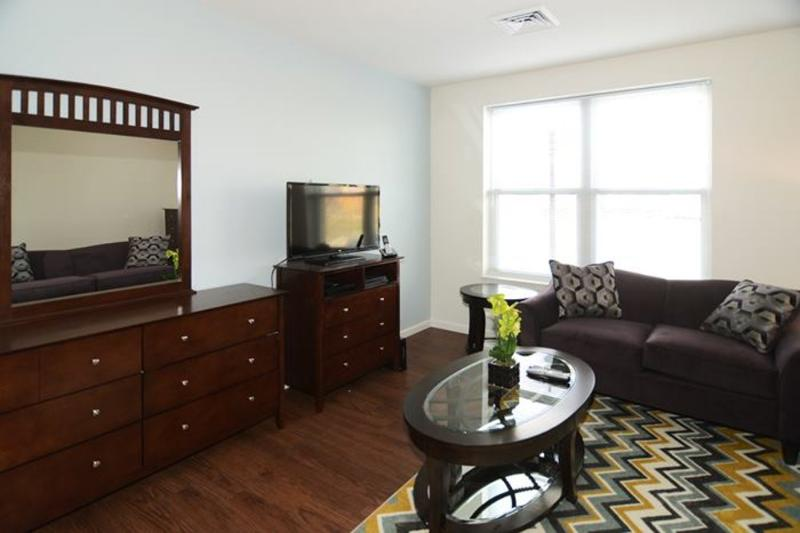 Furnished 1-Bedroom Apartment at Marginal St & Lewis St Boston - Image 1 - Boston - rentals