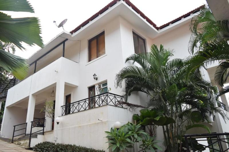 Front elevation view of #3 Tropical Woods - #3 Tropical Woods, Independent Home, North Goa - Bardez - rentals
