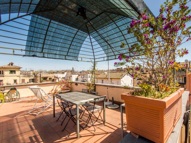Trastevere Panoramic Luxury Terrace - Image 1 - Rome - rentals