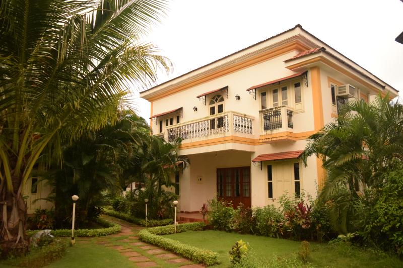 Front elevation of Casa Verma - Casa Verma, Independent Home, South Goa - Cavelossim - rentals