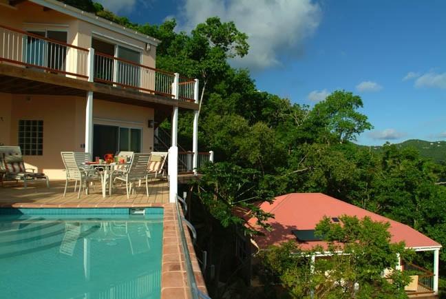 Coral Rays - Stunning St. John Villa - Image 1 - Bordeaux Mountain - rentals