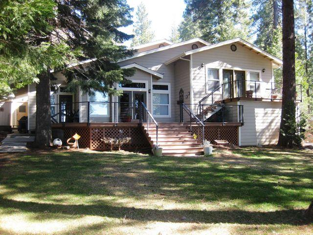 Back of House - BigSprings - Lake Almanor - rentals