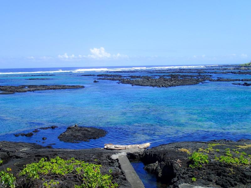 Hale Hui sits on the edge of the stunning Kapoho tide pools. - Hale Hui - Pahoa - rentals