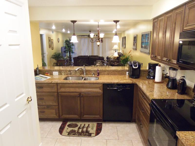 Keurig Coffee, New Cabinets, Appliances and lighting. Ultra Quiet Dishwasher - LUXURIOUS VACATION RETREAT! SANDCASTLES - Cocoa Beach - rentals