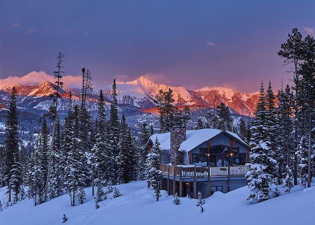 Beautiful 5 Bedroom Ski In, Ski Out Diamond Hitch Home in Moonlight Basin - Image 1 - Big Sky - rentals
