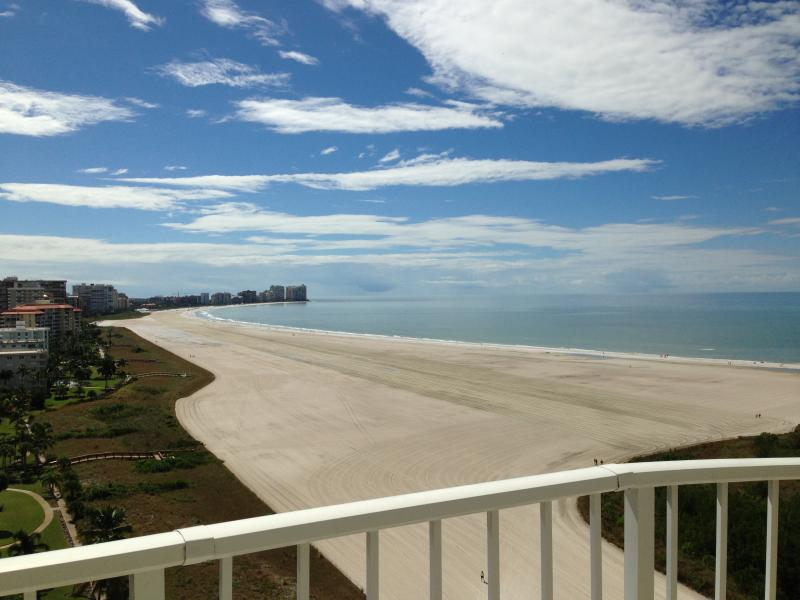 Crescent beach view from every room!  We are on the quiet side of the island, by the nature reserve. - Newly renovated Beachfront Condo @ Tigertail Beach - Marco Island - rentals