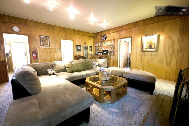 Living room - Big Bear city 3bdr CABIN RENTAL #1 Private cabin. - Big Bear Lake - rentals