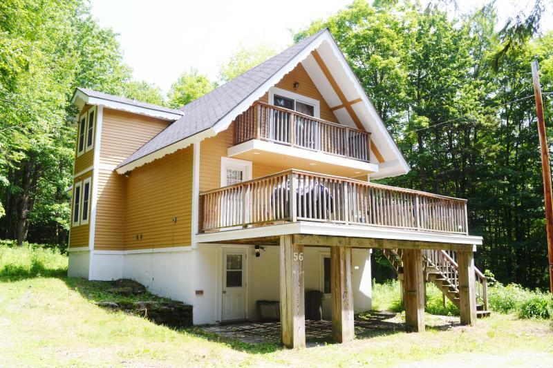 Alpine Cottage - Summer Frontage. - 3 Bedroom Cottage Near Jay Peak Resort - Jay - rentals