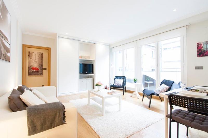 Living room - Mozart II - San Sebastian - rentals
