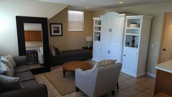 living room angle - 821 San Luis Rey Place - San Diego - rentals