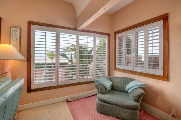 Ocean View From Living Room - 2721 Oceanfront Walk #1 - San Diego - rentals