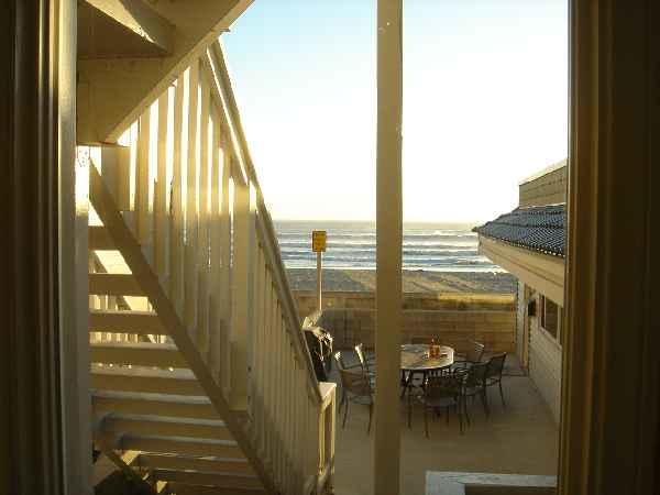 Ocean View from Living Room Window - 3769 Oceanfront Walk - San Diego - rentals