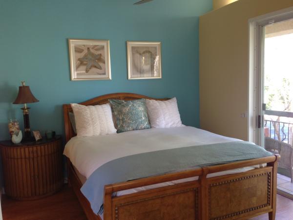 beryl master bedroom - 1047 Beryl St. - San Diego - rentals