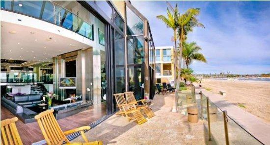 patio view - 3566 Bayside Walk - San Diego - rentals