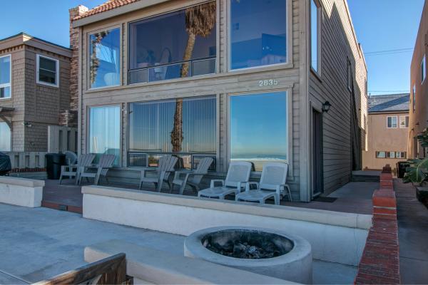 Fire Pit - 2835 Ocean Front Walk #A - San Diego - rentals