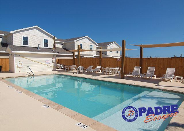 Shaded area at Beach Walk pool - You deserve a vacation to remember. Your family will love you for it! - Corpus Christi - rentals