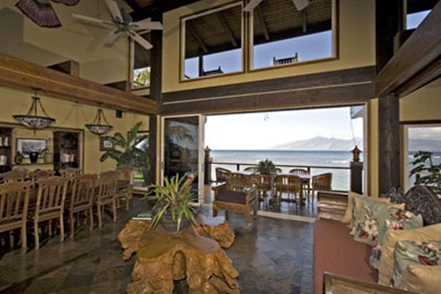 Kahana Nui Villa - beachfront w/ Bali furnishings - Image 1 - Lahaina - rentals