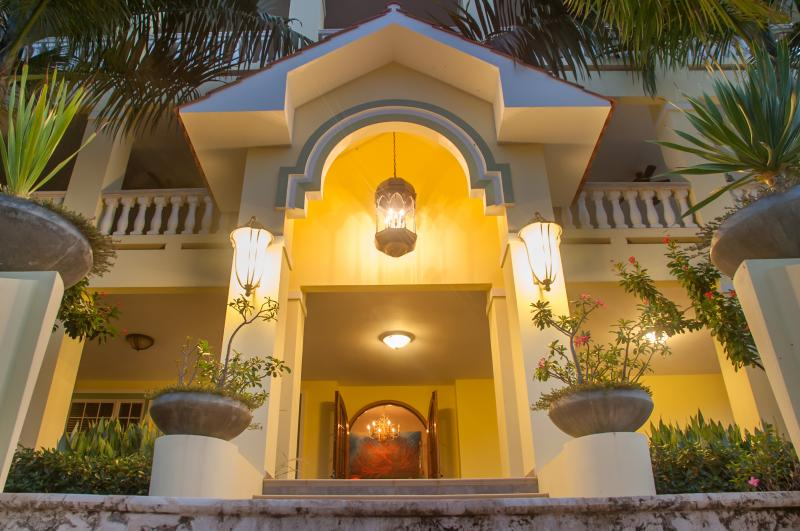 Entrance - Casa Palma Azul over 11,000sqft of luxury - Rincon - rentals