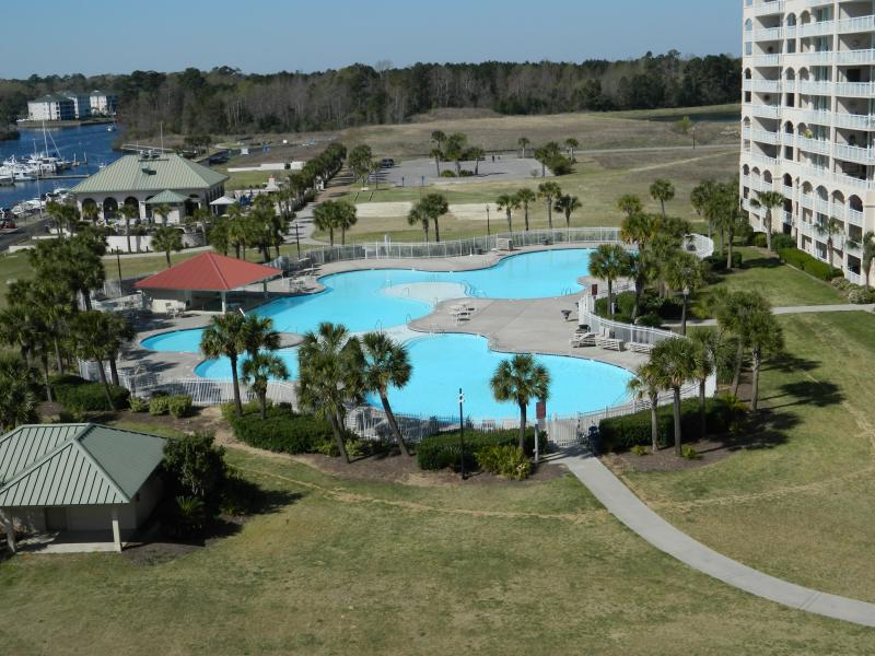 Outdoor Paradise! resort pool and views of the Intracoastal Waterway & Marina - Elegant & Spacious 3b/3b-Just Reduced! Call Now - North Myrtle Beach - rentals