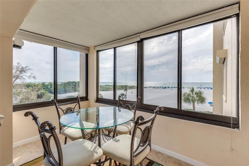 Sandarac A409, 2 Bedrooms, Gulf Front, Elevator, Heated Pool, Sleeps 4 - Image 1 - Fort Myers Beach - rentals