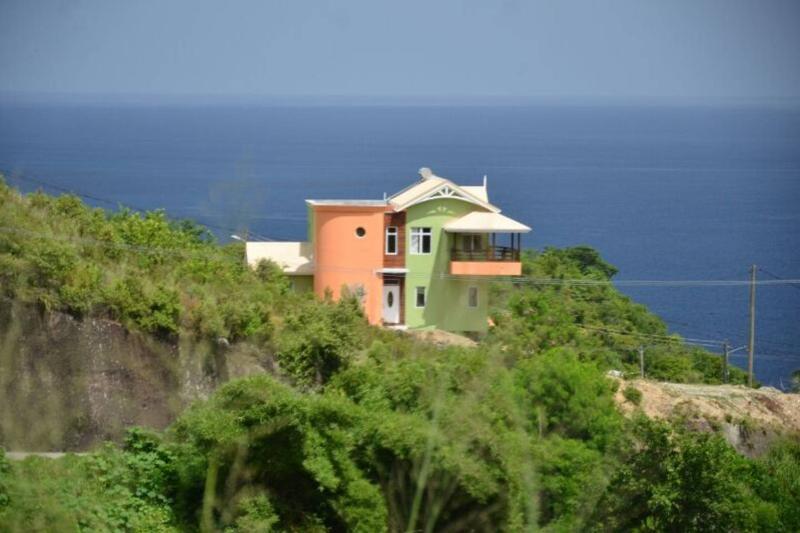 View of Bocean From Hill Side - LUXURY HILLTOP RETREAT; BEST DEAL!! - Anse La Raye - rentals