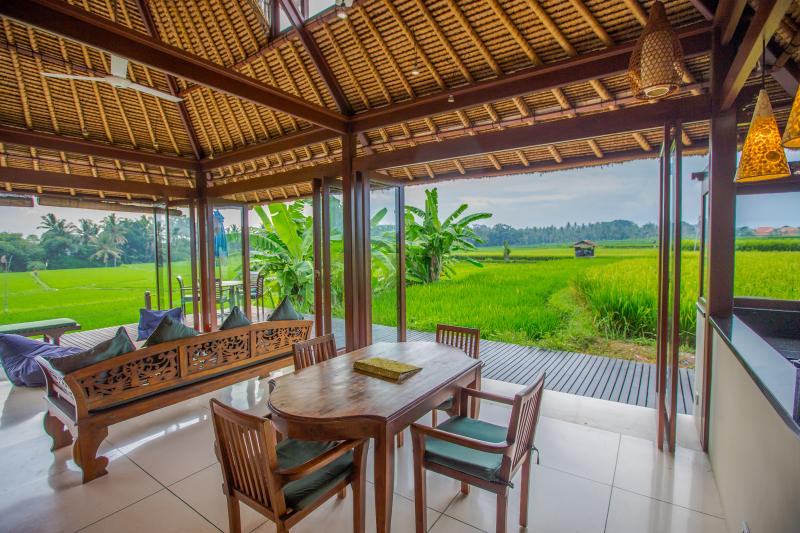 Million$ Rice Field Views in Ubud Luxury Villa Budi - Image 1 - Ubud - rentals