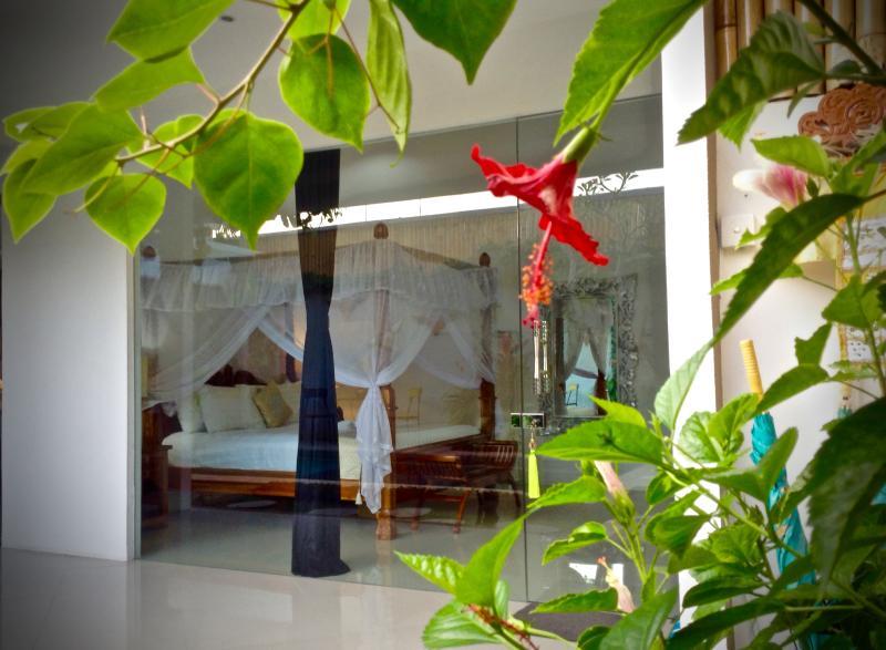 Luxury with a garden pool view Bed 1 - Seminyak 2 bedroom Lux. villa  Location location!! - Seminyak - rentals