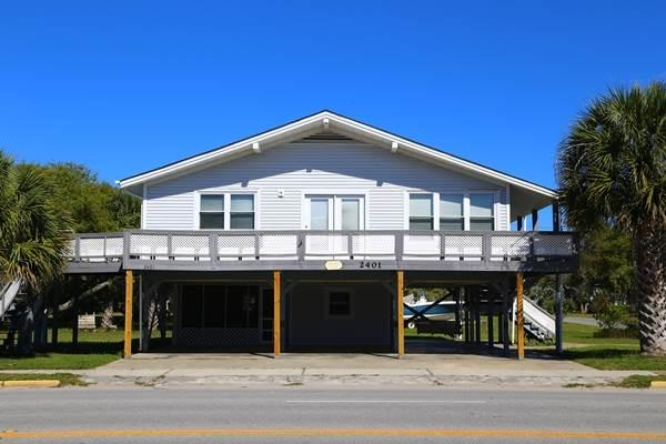 "2401 Palmetto Blvd  - ""Golden Sands"" - Image 1 - Edisto Beach - rentals"