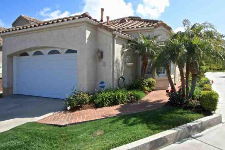 Entrance to single level home on corner lot in gated community - Rose Cottage at Monarch Beach - Dana Point - rentals