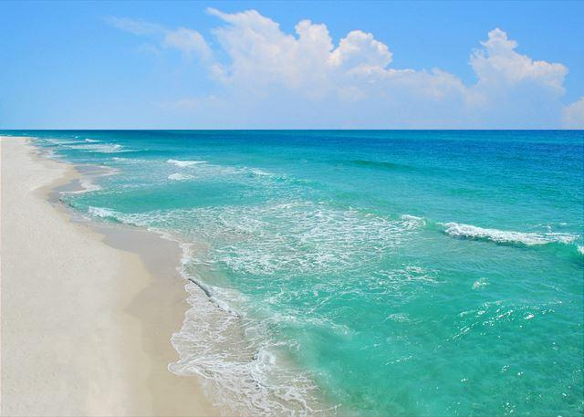 The Emerald Coast! Ready? - EXTRA LARGE PATIO, Right On The Beach! - Fort Walton Beach - rentals