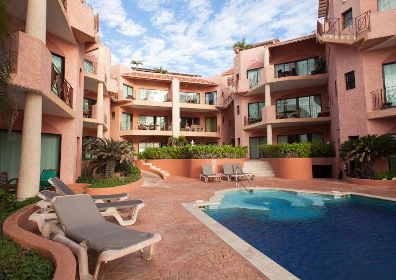 Boutique property featuring infinity pool - 2 BR beachfront penthouse w rooftop terrace - Playa del Carmen - rentals
