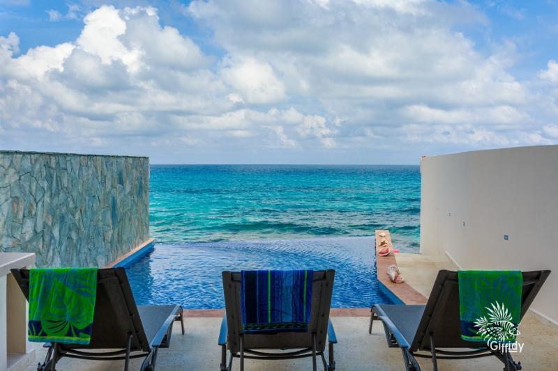 Pool Deck - Casa Musica del Caribe - Isla Mujeres - rentals