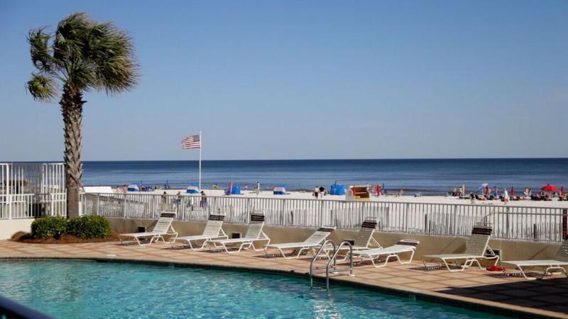 Actual view from your ground floor condo! - Shoalwater 103 ~ True Ground Floor w 3 beds/2baths - Orange Beach - rentals