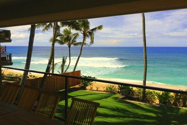 Vans Pipeline Manor - on amazing beach - Image 1 - Haleiwa - rentals